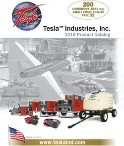 Tesla Industries, Inc. 2016 Product Catalog.
