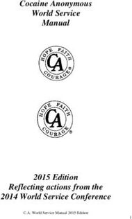 Cocaine Anonymous World Service Manual