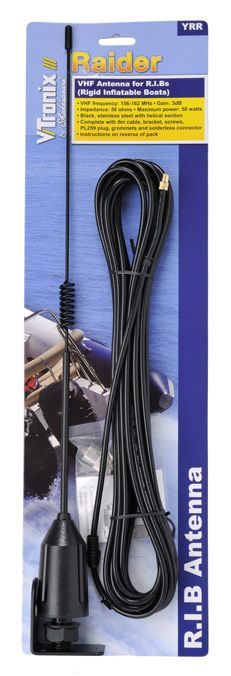 SHAKESPEARE VHF 3FT 5215-C-X WITH 60/' RG8X CABLE C