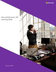 Microsoft Dynamics 365 Licensing Guide