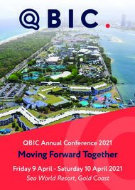 Moving Forward Together - QBIC Annual Conference 2021
