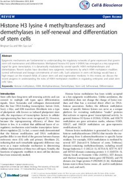 Histone H3 lysine 4 methyltransferases and demethylases in self-renewal and differentiation of stem cells