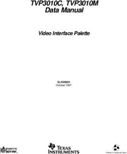TVP3010C, TVP3010M Data Manual Video Interface Palette