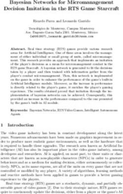 Bayesian Networks for Micromanagement Decision Imitation in the RTS Game Starcraft