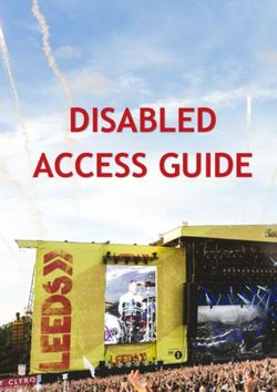 DISABLED ACCESS GUIDE