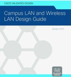 Campus LAN and Wireless LAN Design Guide