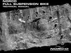 NORCO FULL SUSPENSION BIKE - TECHNICAL MANUAL