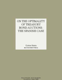 ON THE OPTIMALITY OF TREASURY BOND AUCTIONS: THE SPANISH CASE