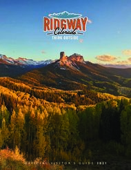 OFFICIAL VISITOR'S GUIDE 2021 - Ridgway Colorado