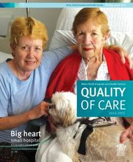 QUALITY OF CARE Big heart - small hospital Kilcoy earns patient praise - ...