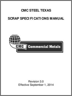 CMC STEEL TEXAS SCRAP SPECIFICATIONS MANUAL
