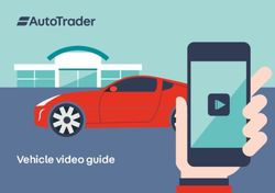 Vehicle video guide