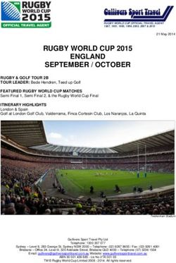 RUGBY WORLD CUP 2015 ENGLAND SEPTEMBER / OCTOBER