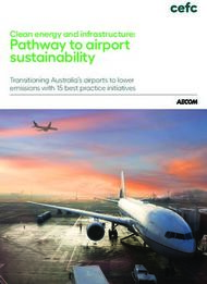 Pathway to airport sustainability - Transitioning Australia's airports ...