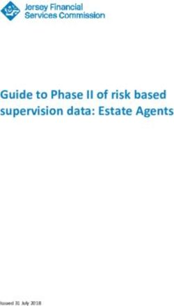Guide to Phase II of risk based supervision data: Estate Agents