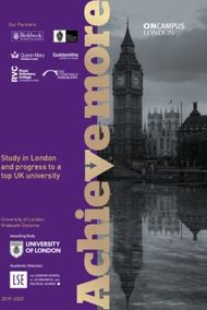 ONCAMPUS London 2020 - Study in London and progress to a top UK university