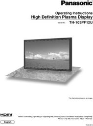 High Defi nition Plasma Display