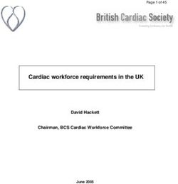 Cardiac workforce requirements in the UK