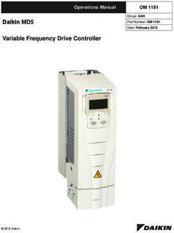 Daikin MD5 Variable Frequency Drive Controller