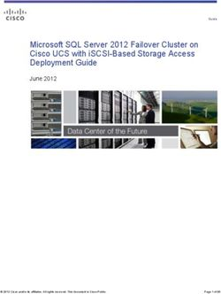Microsoft SQL Server 2012 Failover Cluster on Cisco UCS with iSCSI-Based Storage Access Deployment Guide