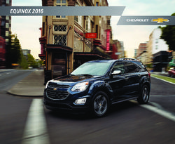 Chevrolet Equinox 2016 Brochure