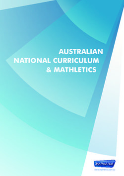 AUSTRALIAN NATIONAL CURRICULUM & MATHLETICS
