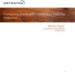 Comparing Oracle with Cassandra / DataStax Enterprise