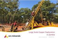 Large Scale Copper Exploration in Zambia - www.arcminerals.com JANUARY 2021
