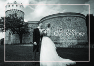 Clifton Observatory - Wedding Brochure 2019