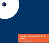 Logistics Interoperability Model - Version