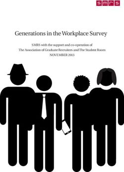 Generations in the Workplace Survey