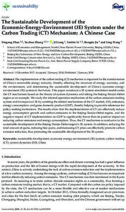 The Sustainable Development of the Economic-Energy-Environment 3E System under the Carbon Trading CT Mechanism: A Chinese Case
