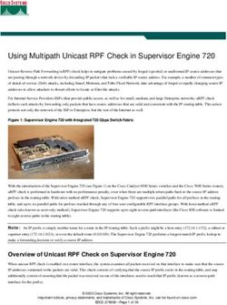 Using Multipath Unicast RPF Check in Supervisor Engine 720
