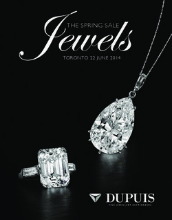 Jewels. The Spring Sale 2014. Dupuis Fine Jewellery Auctioneers.