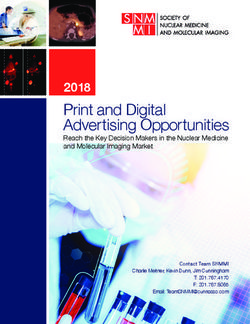 Print and Digital Advertising Opportunities